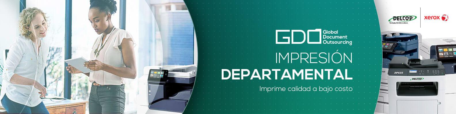 Impresión Departamental